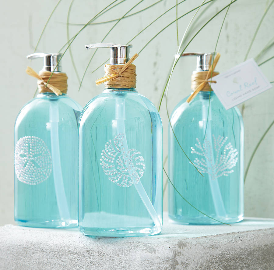 Coral Reef Scented Hand Soap By Ella James