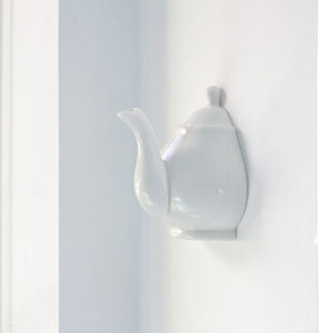 Porcelain Teapot Wall Hook - kitchen accessories