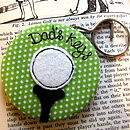 Personalised Golf Sport Keyring