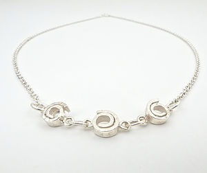 Silver Spiral Necklace - necklaces & pendants