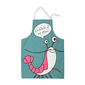 'Cocktails At My Place' Apron