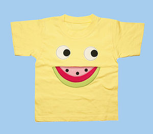 Girl's Melon Face T Shirt