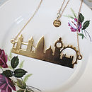 London City Skyline Necklace