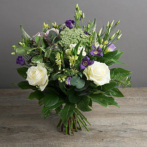 Lilac Fresh Flower Fields Bouquet - fresh flowers