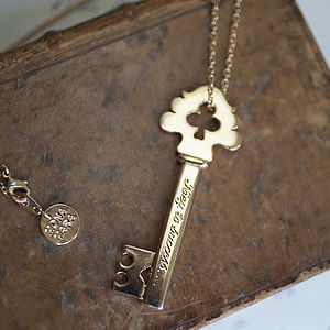 'Key To Success' Necklace - necklaces & pendants
