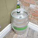 Reupcycled Beer Cask Table