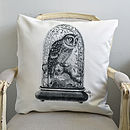 Owl in Dome Cushion