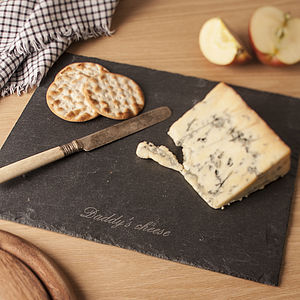 Personalised Cheese Board - placemats & coasters