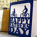 Father's Day Cycling Card