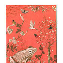 Woodlands Frog Card