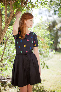Multi Spot Shell Top