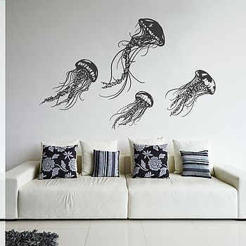 Jellyfish Wall Sticker Set