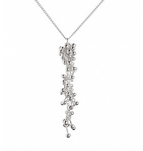Silver Drop Pendant Necklace - necklaces & pendants