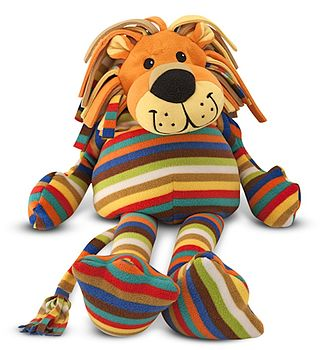 Stripy Soft Lion
