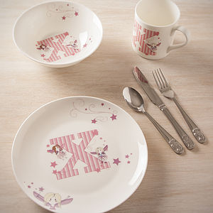 Personalised Child's Breakfast Set