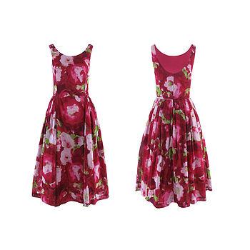 Lola Dress Pink Floral Print