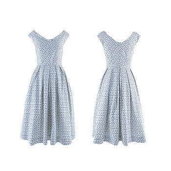 Grace Dress Pastel Print