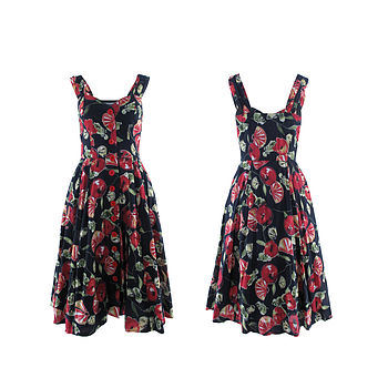 Charlie Dress Fruit Print