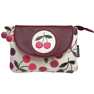 Cherry Make Up Bag - wash & toiletry bags