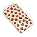 Ladybird Printed Leather Phone Case