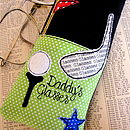 Personalised Golf Glasses Case
