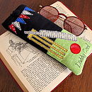 Personalised Cricket Glasses Case