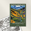 The Cheviot Hills Fridge Magnet