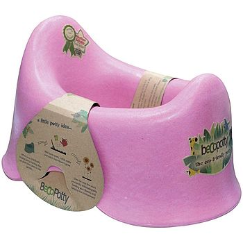Pink eco-friendly potty