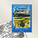 Alnwick Castle Fridge Magnet