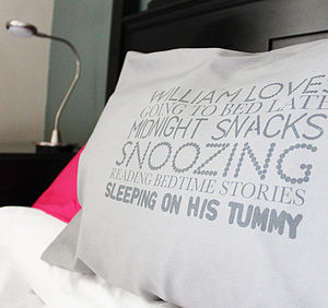 Personalised Pillowcase