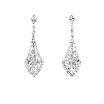 Amante Vintage Style Crystal Earrings