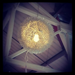 Contemporary Wire Detailed Chandelier - lighting