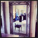 Antique Style Carved Effect Mirror