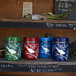 Eva Enamel Tea Tin - shop by price
