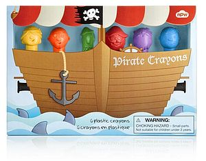 Pirate Crayons - stationery