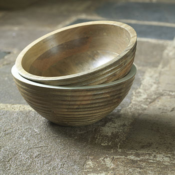 Basheera Mango Wood Bowl