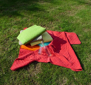 Quilted Picnic Blanket