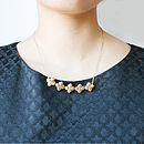 Hyacinth Floral Necklace