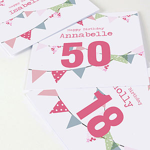 Personalised Birthday Card - shop by category