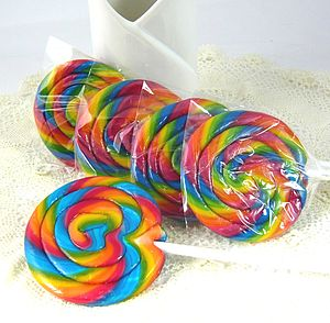 Whirly Candy Lolly For Party Bags - cakes & treats