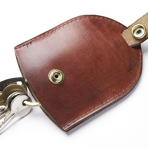 Hand Made Leather Key Pouch Case