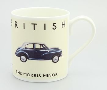 Best Of British Morris Minor Mug