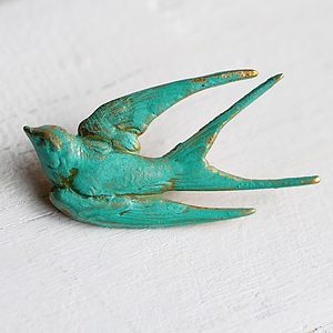 Bird Brooch - pins & brooches