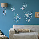 Child's Jellyfish Wall Sticker Set