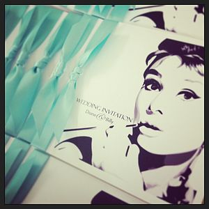 Breakfast At Tiffany's Wedding Invitation - invitations