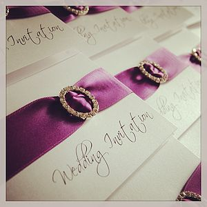 Mayfair Crystal Luxury Wedding Invitation