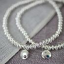Silver Birthstone Bracelet