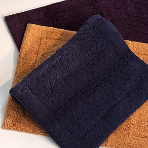 Sumptuous Bath Mat Collection - bed, bath & table linen