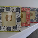 Square Colourful Ikat Picture Frame