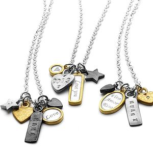 Personalised Trinket Charm Necklace